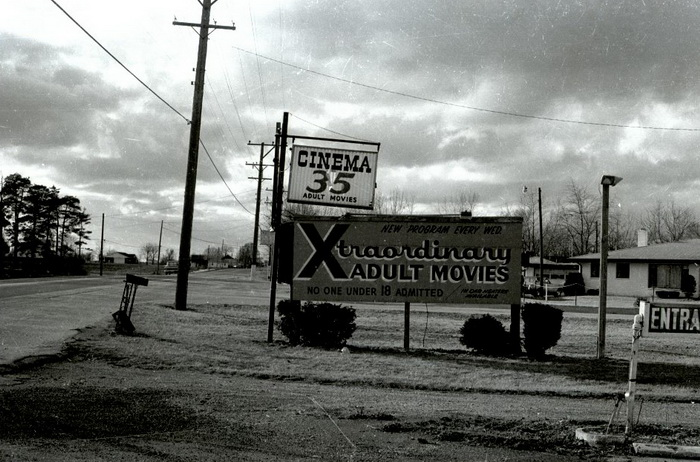 Cinema 35 Drive-In - OLD PHOTO FROM HARRY MONEY